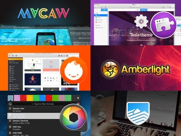 Montage of apps included in bundle