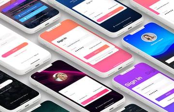 Login - Mobile Form UI Kit