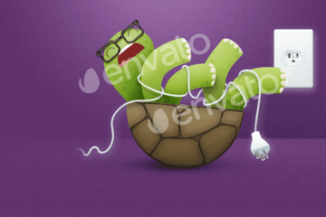 Turtle - Responsive 404 Error Template