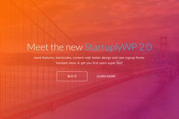 Startuply Multi-Purpose Startup Theme