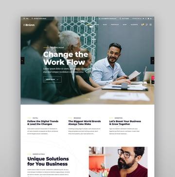 Brnn - Creative Agency Theme