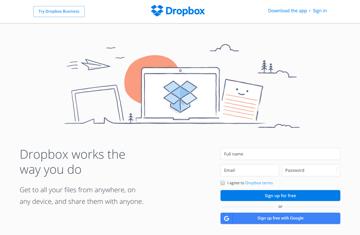 Dropbox CTA