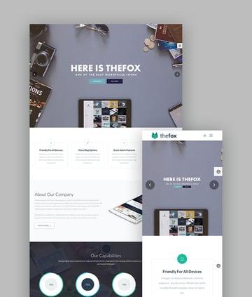 TheFox - Creative Multi-Purpose WordPress Theme
