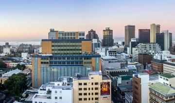 Cape Town Skyline of CBD at Dusk