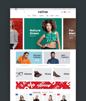 Fastor - Multipurpose eCommerce Shopify Sections Theme Templates
