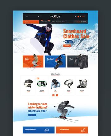 Fastor - Multipurpose Responsive Shopify Theme