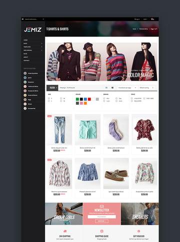 Jemiz - Creative Fashion Shopify Theme
