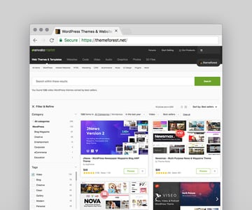 Best WordPress Video Themes available for sale on Envato Market