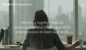 Google for Entrepreneurs initiative