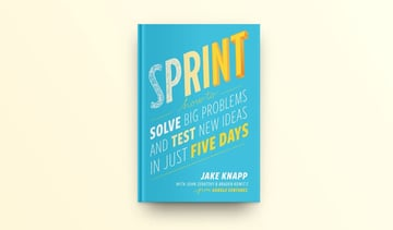 Sprint offers one possible approach to workshopping with colleagues