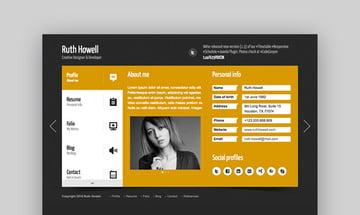 Prestige - Portfolio Resume WordPress Theme