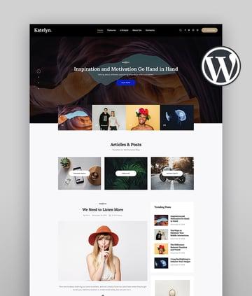 Katelyn Author WordPress Theme