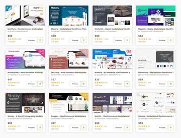 Mejores temas de marketplaces para WordPress en ThemeForest