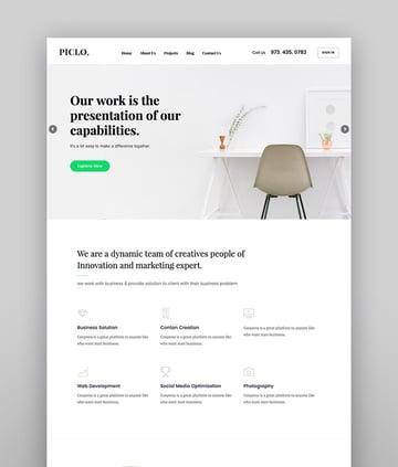 Piclo - SEO Digital Agency WordPress Theme