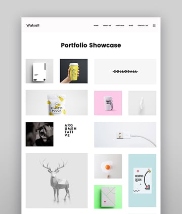 Walsall - Minimal Digital Agency WordPress Theme