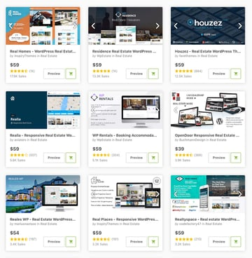 Best real estate premium templates for 2019 available for sale on Envato Market