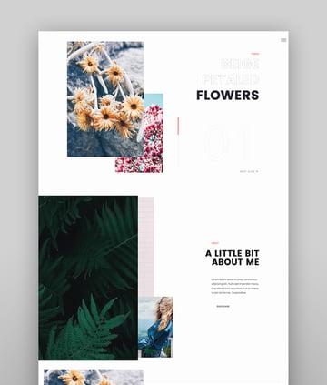 Midoria - Personal WordPress Blog Theme
