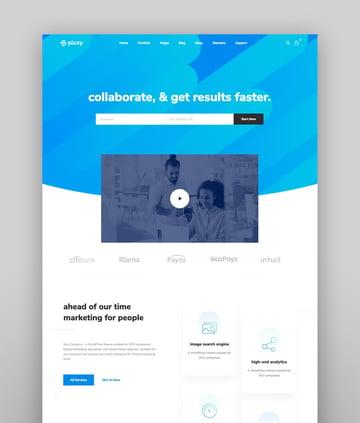 Pixxy Software  Saas App WordPress Theme