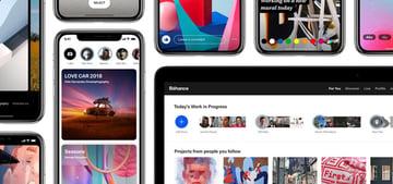Adobes Behance network