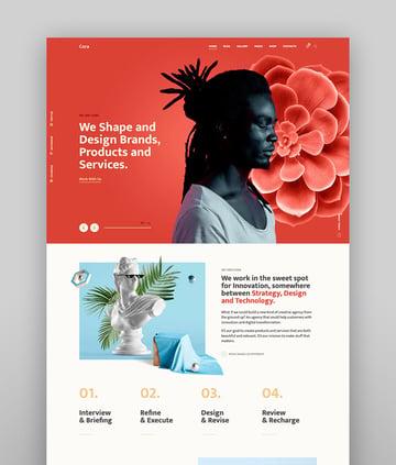 Cora  A Creative MultiPurpose WordPress Theme