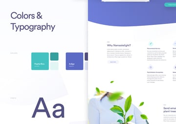 Namastelight by Martin Strba Style guidelines are one way to ensure consistency in your design process