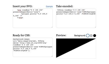 URL encoder for SVG