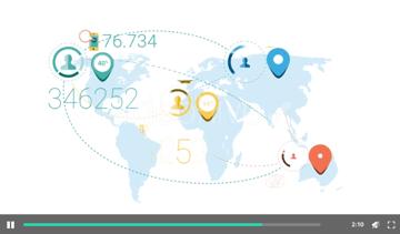 Elementos infográficos de negocios