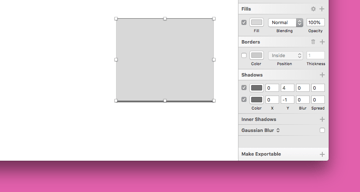 Multiple one-sided borders in Sketch