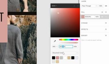 Nudge Color Values in Figma