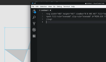Copy Vectors as SVG Code in Figma