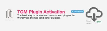 tgm plugin activation