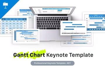 Gantt Chart Keynote Template