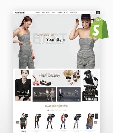 Midnight Responsive Shopify Theme