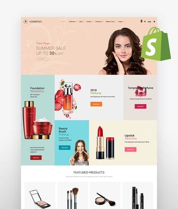 Sasha Cosmetics Shopify Theme