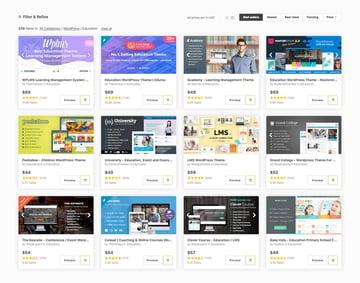 Best LMS WordPress Themes on Themeforest