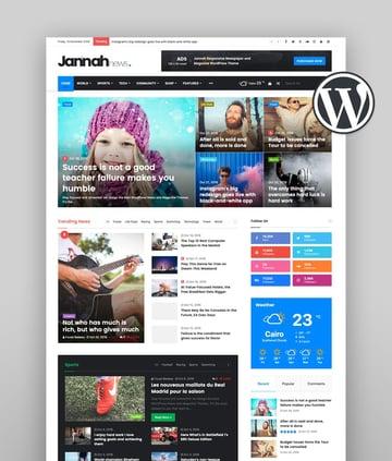 Jannah - News Magazine Newspaper BuddyPress AMP