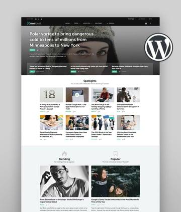 Newsbeat Best Newspaper WordPress Theme