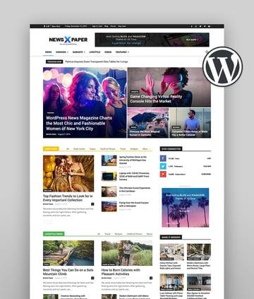 Newspaper Best News Theme WordPress