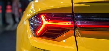 car headlight rear