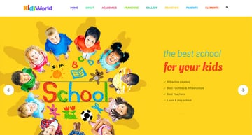 Kids Heaven - Children WordPress Theme
