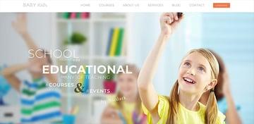 Baby Kids  Education Primary School For Children