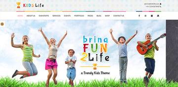 Kids Life  Children School Theme