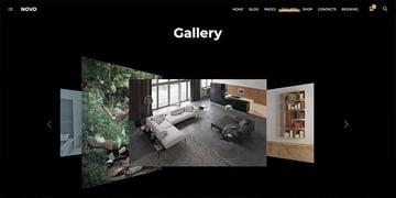 Novo  Photography WordPress Theme