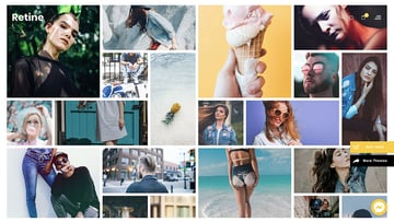 Retine - A WordPress Theme for Photographers and Creatives