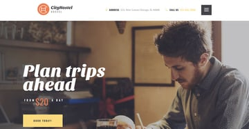 City Hostel  A Travel  Hotel Booking Hotel WordPress Theme