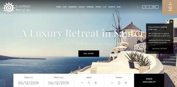 Sunway - Hotel Booking Hotel WordPress Theme