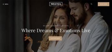 Milenia - Hotel  Booking WordPress Theme