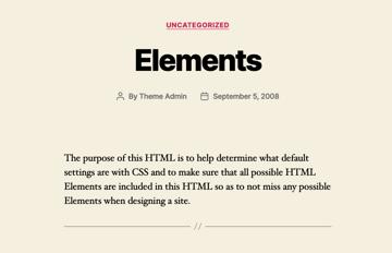 default fonts in Twenty Twenty theme
