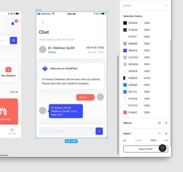 Medical Mobile UI Kit Design UI kit in Figma