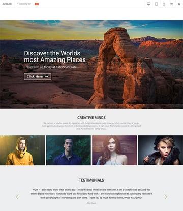 Mental  Art  Portfolio WordPress Theme